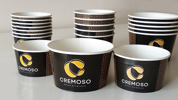 Why are printed paper cups for ice cream way better?